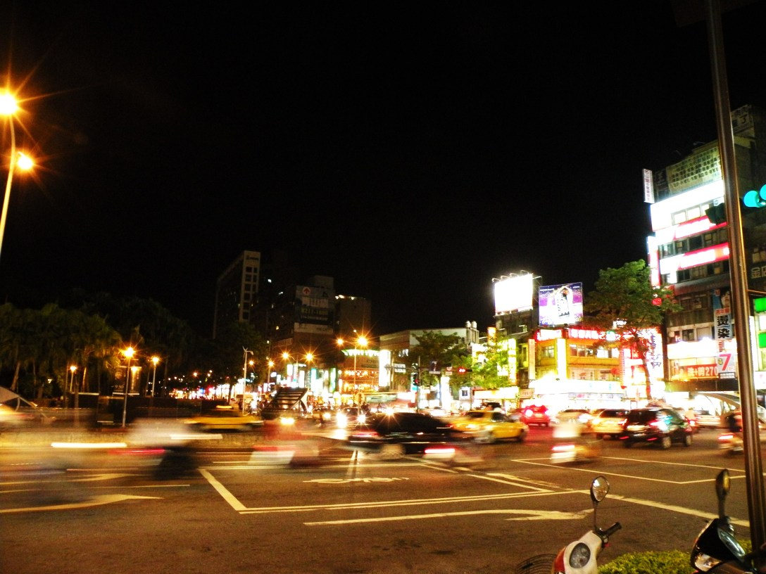 Taipei at night