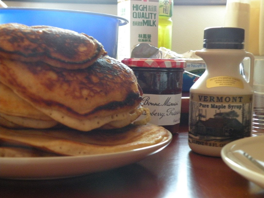 Yes, envy the pancakes
